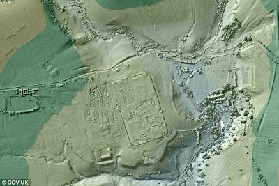 Roman roads discovered using lidar