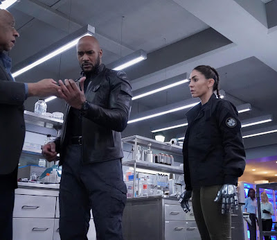 Agents Of Shield Season 6 Henry Simmons Natalia Cordova Buckley Image 1