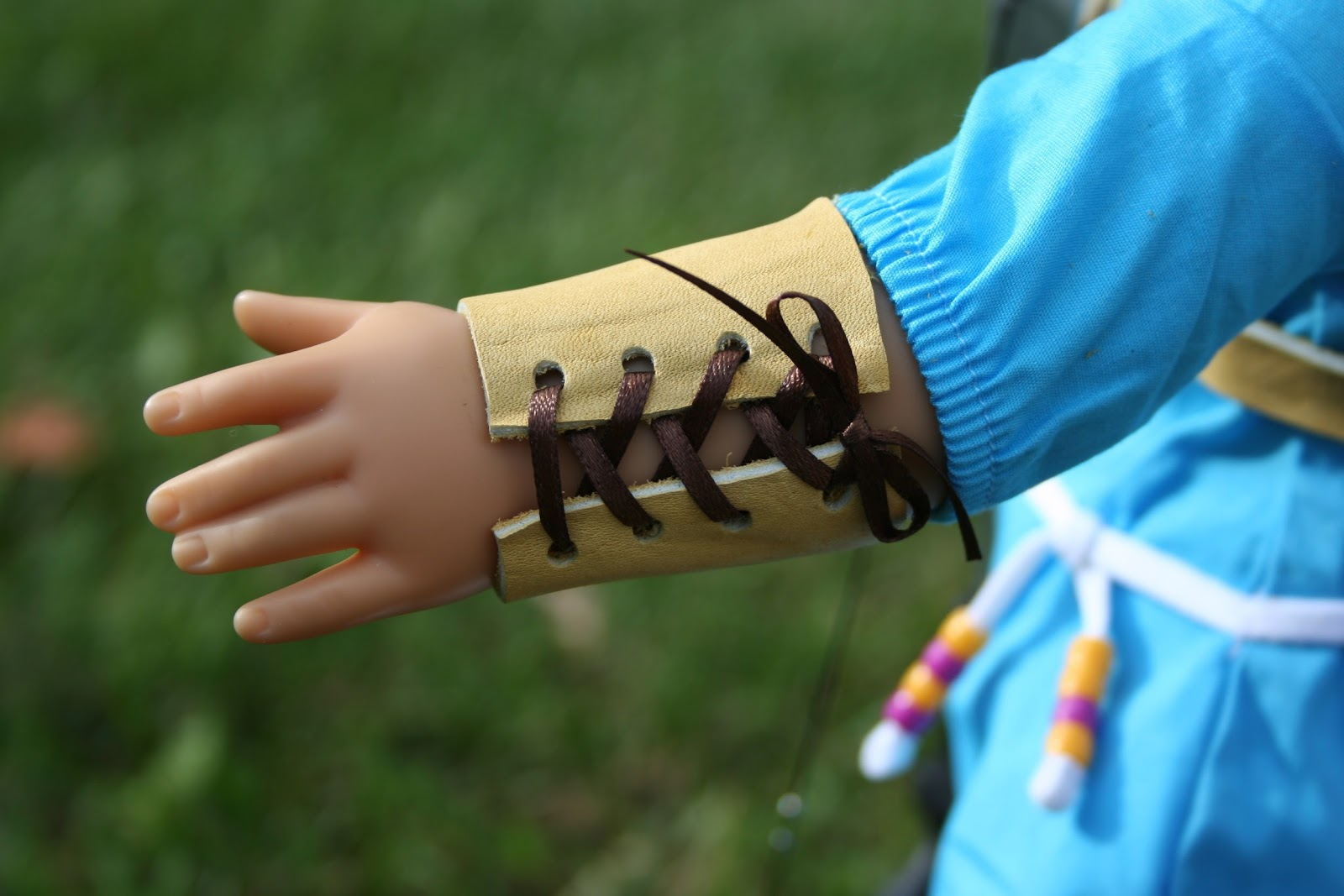Arts And Crafts For Your American Girl Doll Archery Arm