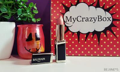"""My Crazy Box """"Haute Couture"""" rouge balmain l'oréal"""