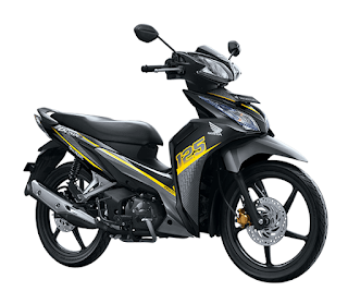 Honda Blade 125 FI Sporty Yellow terbaru