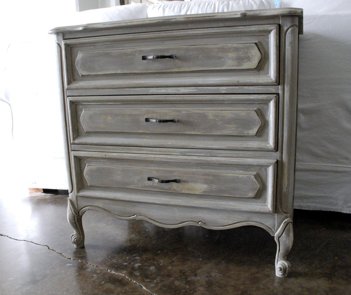 distressed gray bedroom furniture