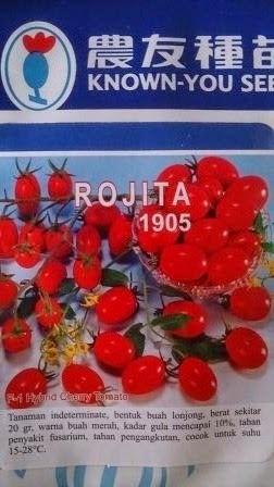 Benih, Tomat Cherry, Rojita, Tomat Rojita, Tomat Murah Rojita,tomat, tahan virus,kuning, keriting, unggul, dataran rendah, tinggi, petani, Known You Seed