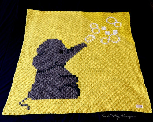 Elephant Blowing Bubbles - Free Pattern