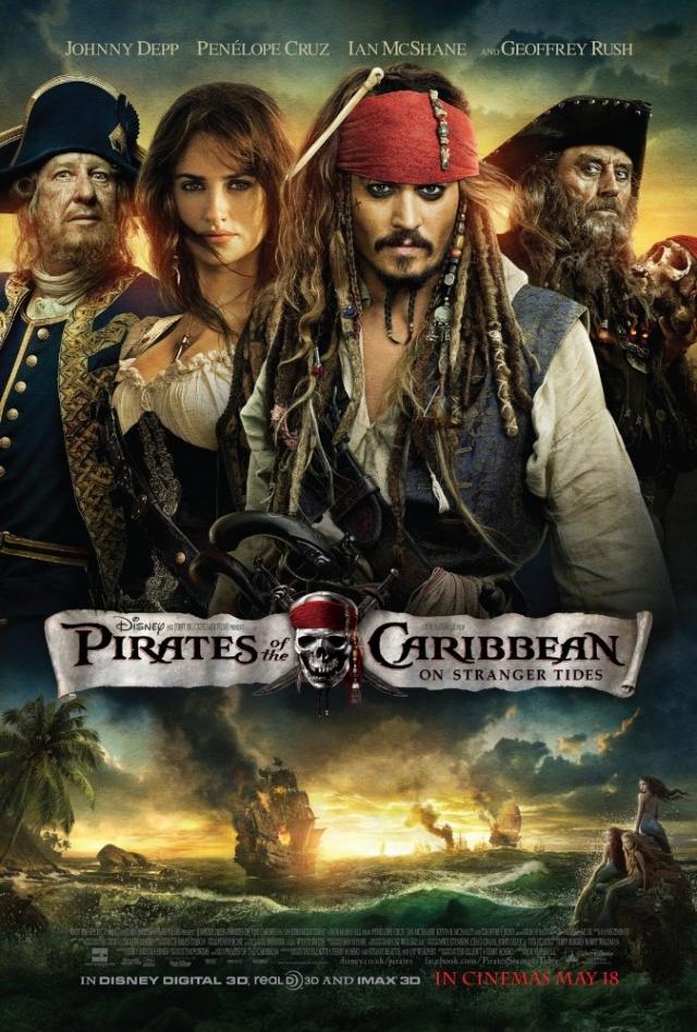 Cướp biển vùng Caribbe 4: Suối Nguồn Tươi Trẻ - Pirates of the Caribbean: On Stranger Tides (2011)