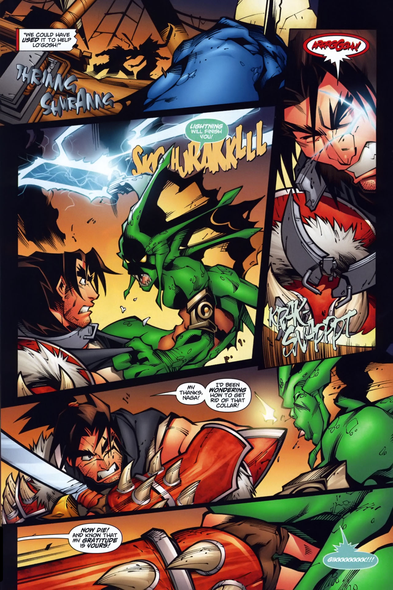 Read online World of Warcraft comic -  Issue #7 - 19