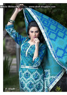 Best Lawn Dresses for Eid by Sitara Sapna