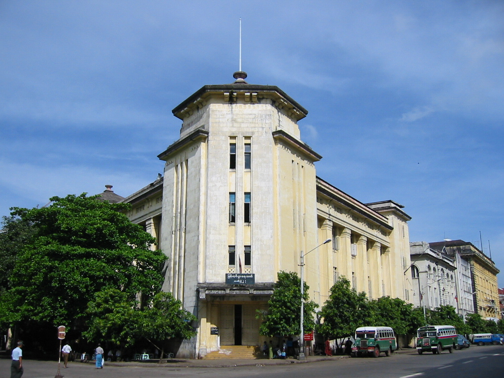 Sofaer Co Building Yangon Sofa Organizer And Remote Holder Myanmar Insider The Heritage Walking Tour See Old