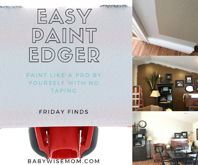 Easy Paint Edger {Friday Finds}