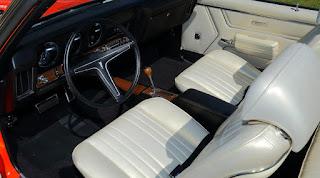 1969 Pontiac LeMans GTO Ram Air IV Convertible Dashboard