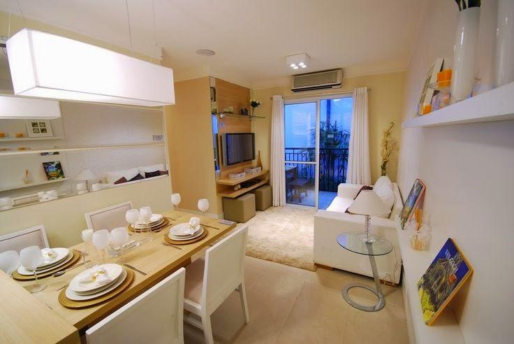 20 salas de jantar pequenas jeito de casa blog de for Modelos de apartamentos modernos y pequenos