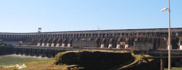 Itaipu Binacional. Usina Hidrelétrica de Itaipu, Foz do Iguaçu.