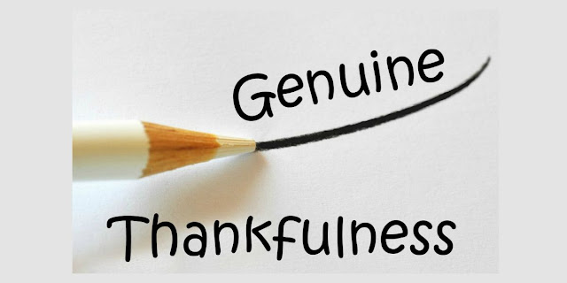 Genuine Thankfulness  - 1 Timothy 6:7
