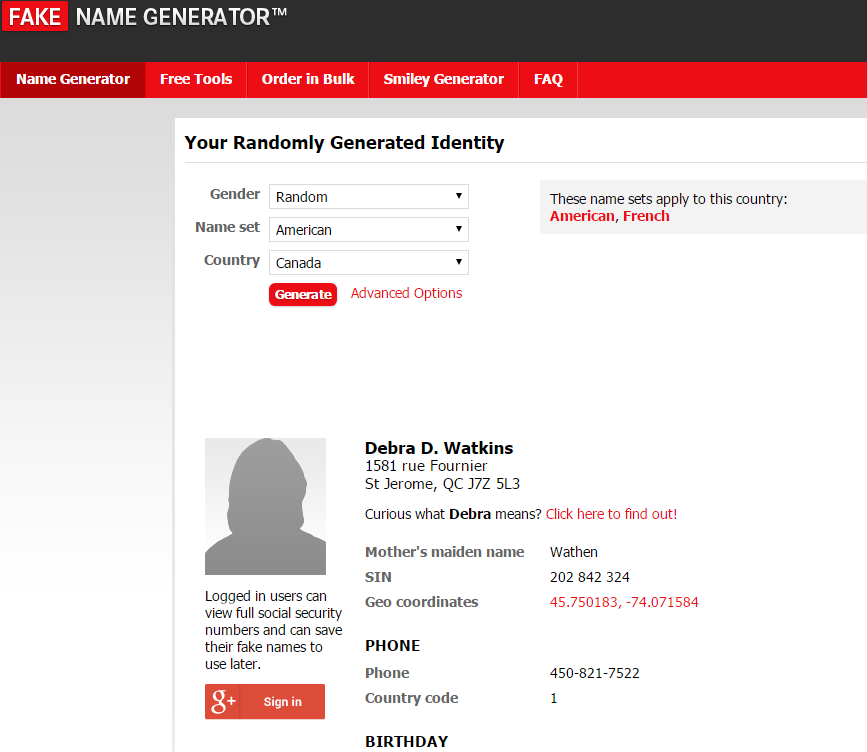 Chuanshuoge Chuanshuoge Name Name Generator Generator Fake