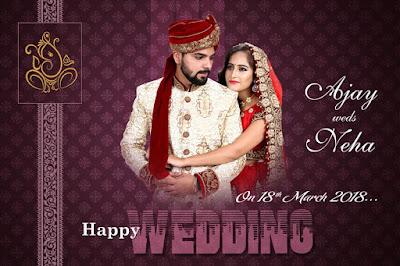 Indian Wedding Album 12x18