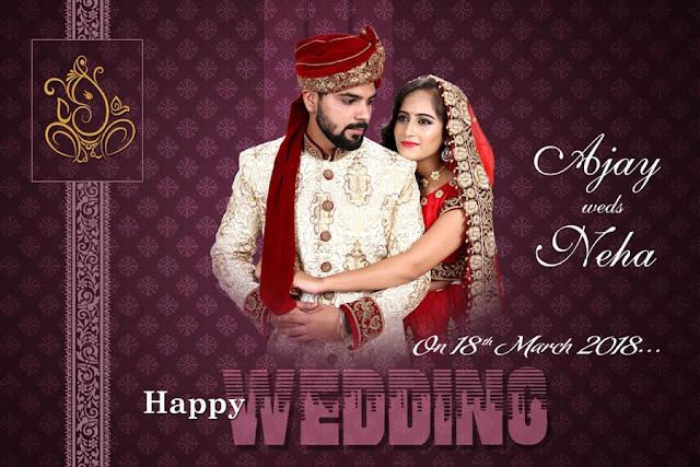 26 Indian Wedding Album 12x18 Cover Pages Psd Design Studiopk