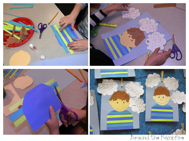 Author's viewpoint writing craft for The Art Lesson by Tomie dePaola