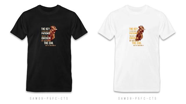 SAM09-P6FC-CTS Animal T Shirt Design, Custom T Shirt Printing