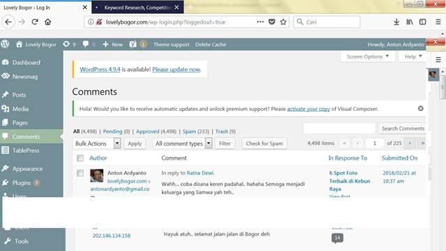 Membalas Komentar Di Wordpress Lebih Enak Dibanding Blogspot