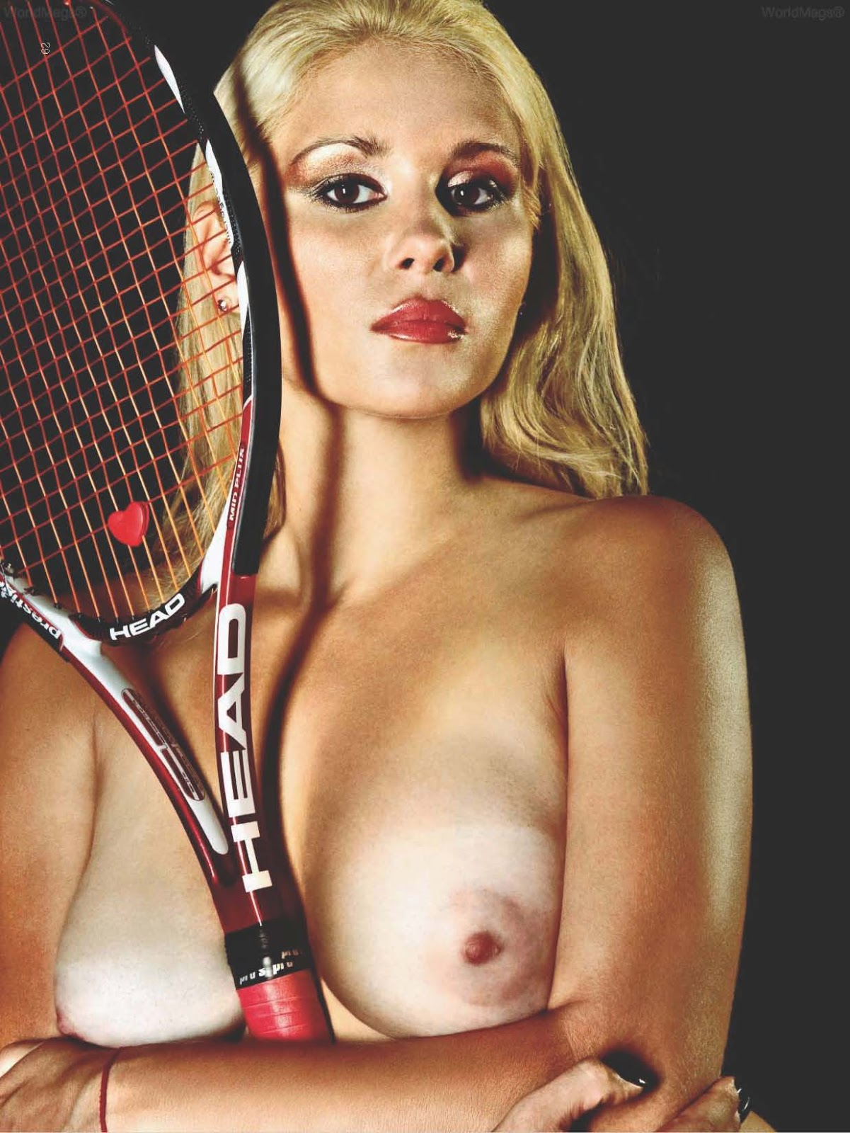 nude pictures of tennis players