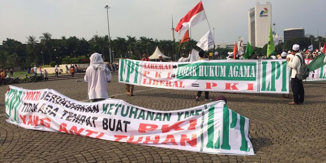 Demo antiPKI, massa malah sindir TNI masuk gorong-gorong sampai Ahok