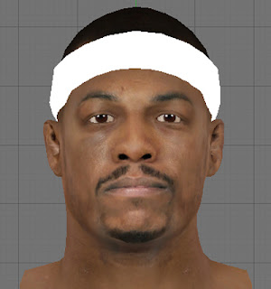 NBA 2K13 Paul Pierce Cyber Face Patch