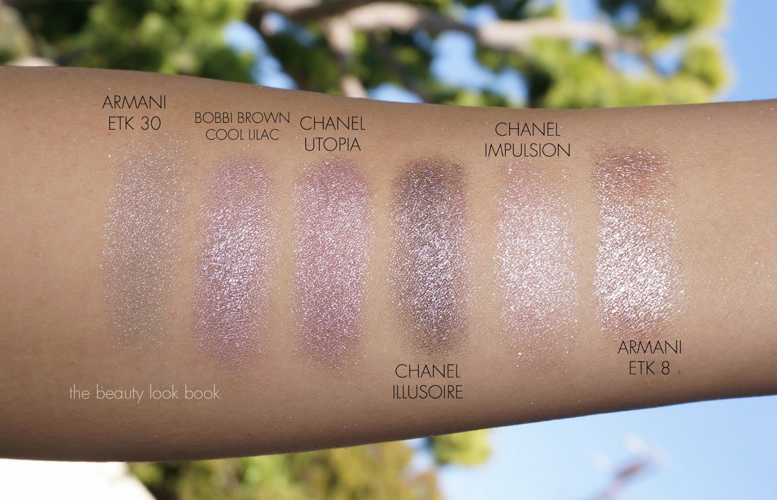 Chanel Illusion Dombre Mirage New Moon And Utopia The Beauty