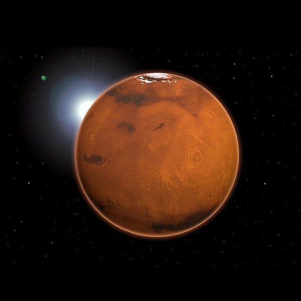 Planeta Marte se acercará bastante a la Tierra este 2018