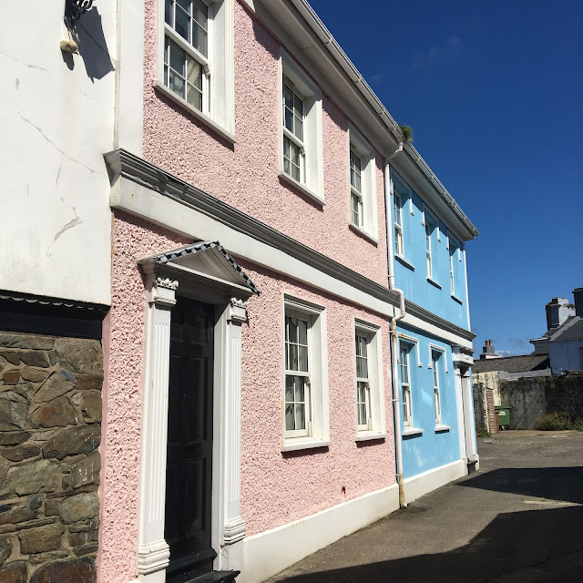 Pastel Houses in Isle of Man