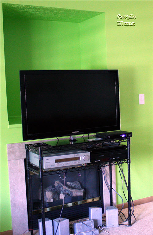 Condo Blues How To Install A Flat Panel Tv Wall Mount