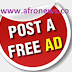 Post your free advert here now