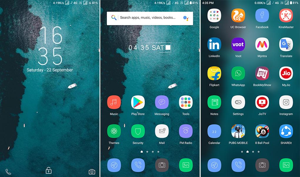 Samsung Pro MIUI Theme MTZ Download For Xiaomi Mobile