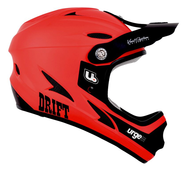 New 2016 Drift Helmet From Urge BP in Red