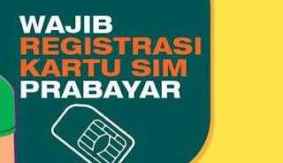 Wajib Registrasi Kartu SIM Prabayar