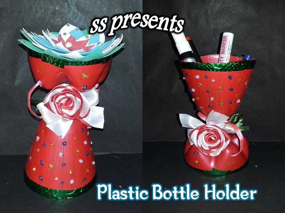 Plastic Bottle Multi Purpose Holder