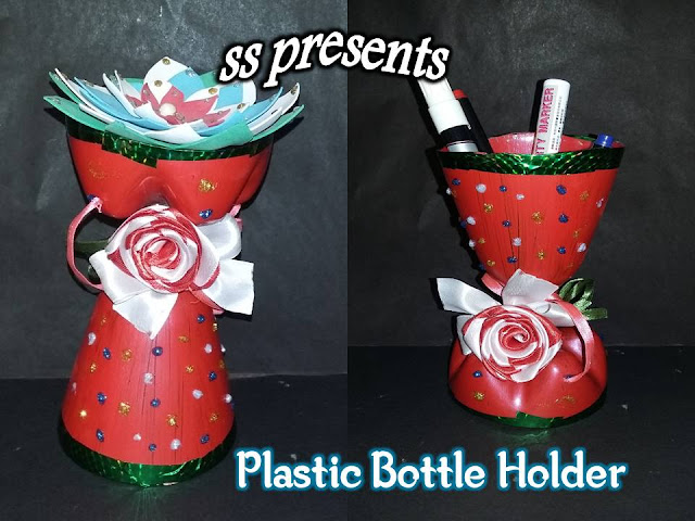 Here is 1000+ images about Plastic bottle,Images for how to make a pen holder out of plastic bottle,DIY Plastic Bottle Pen Holder,Flowers Using Plastic Bottles,how to make pen stand with ice cream sticks,how to make plastic bottle multi purpose pen holder,best out of the waste products,Plastic Bottle Multi purpose Holder pen stand