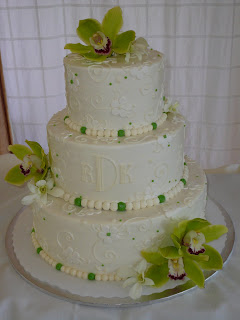 Buttercream Wedding Cake Decorations