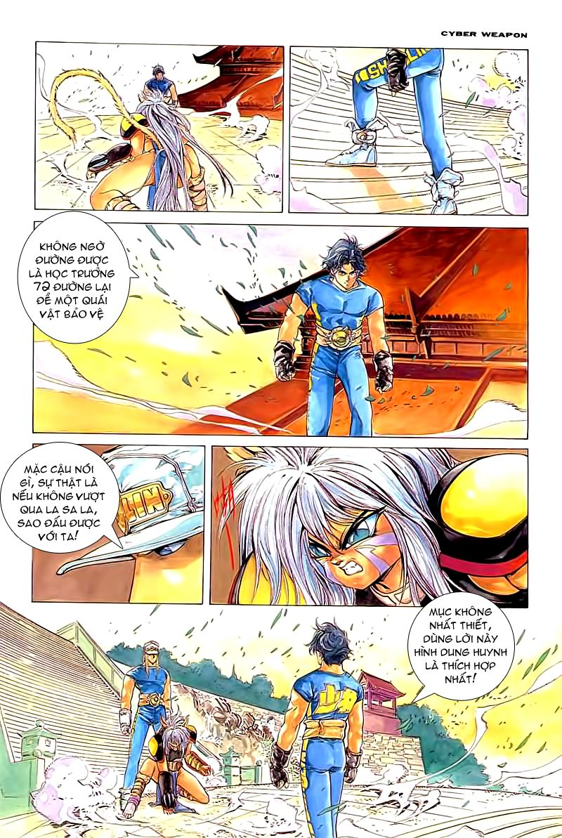 Cyber Weapon Z - Siêu Thần Z chap 2 - Trang 2