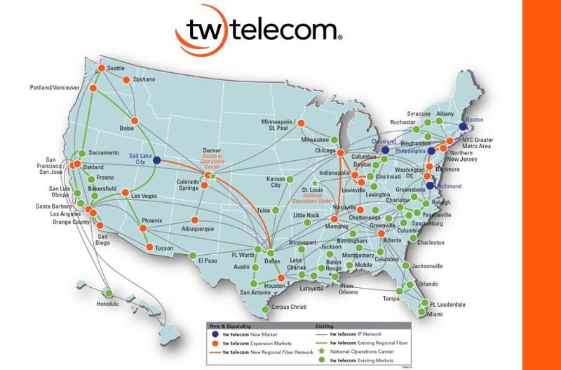 Converge! Network Digest: tw telecom