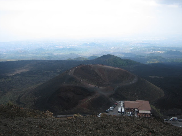 Monte Etna - Refugio Salienza y Crater