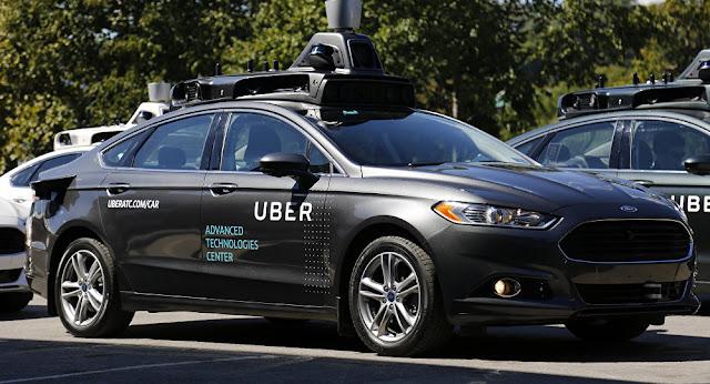 Uber Autonomous Car