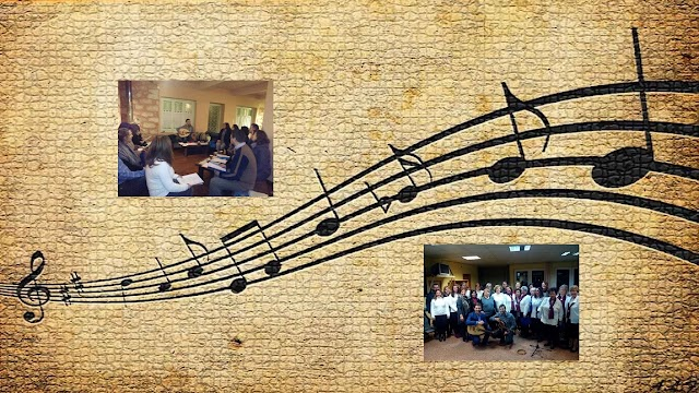 Φωτογραφίες από τις πρόβες και τις εκδηλώσεις της χορωδίας μας.
