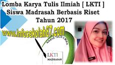 Juknis Lomba Karya Tulis Ilmiah (LKTI) Siswa Madrasah 2017