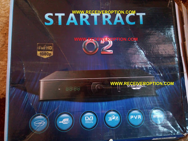 STARTRACT O2 HD RECEIVER CCCAM OPTION SOFTWARE