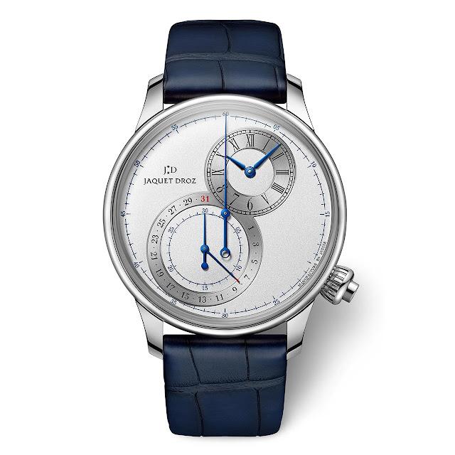Jaquet Droz Grande Seconde Chronograph Silver