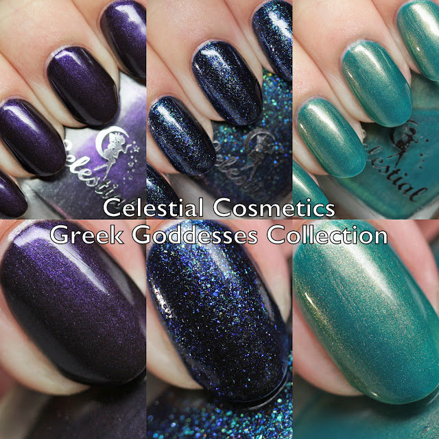 Celestial Cosmetics Greek Goddesses Collection
