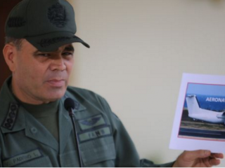 Ordenan impedir ingreso a Costa Rica a ministro de Defensa de Venezuela Vladimir Padrino y su familia