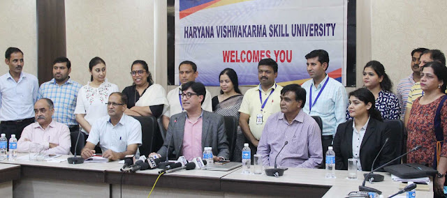 Press-conference-Haryana-Vishavkarma-Skill-University-Palwal
