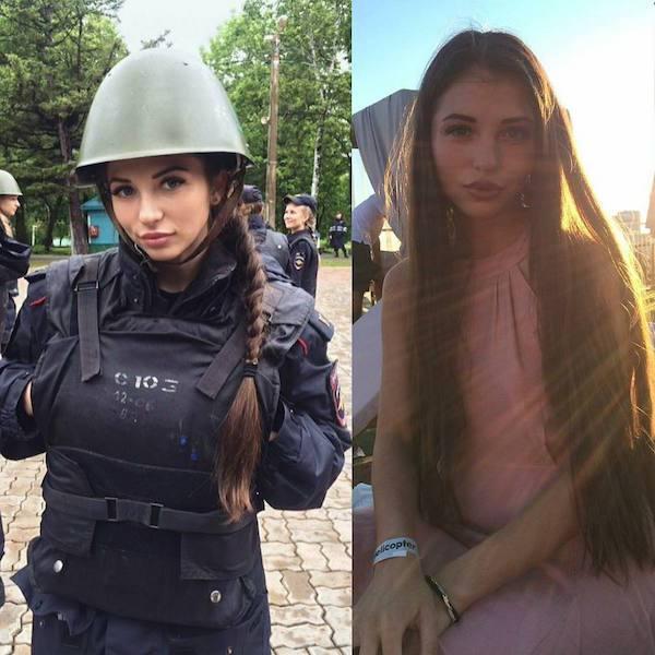 30 Mujeres que demuestran ser hermosas con y sin uniforme