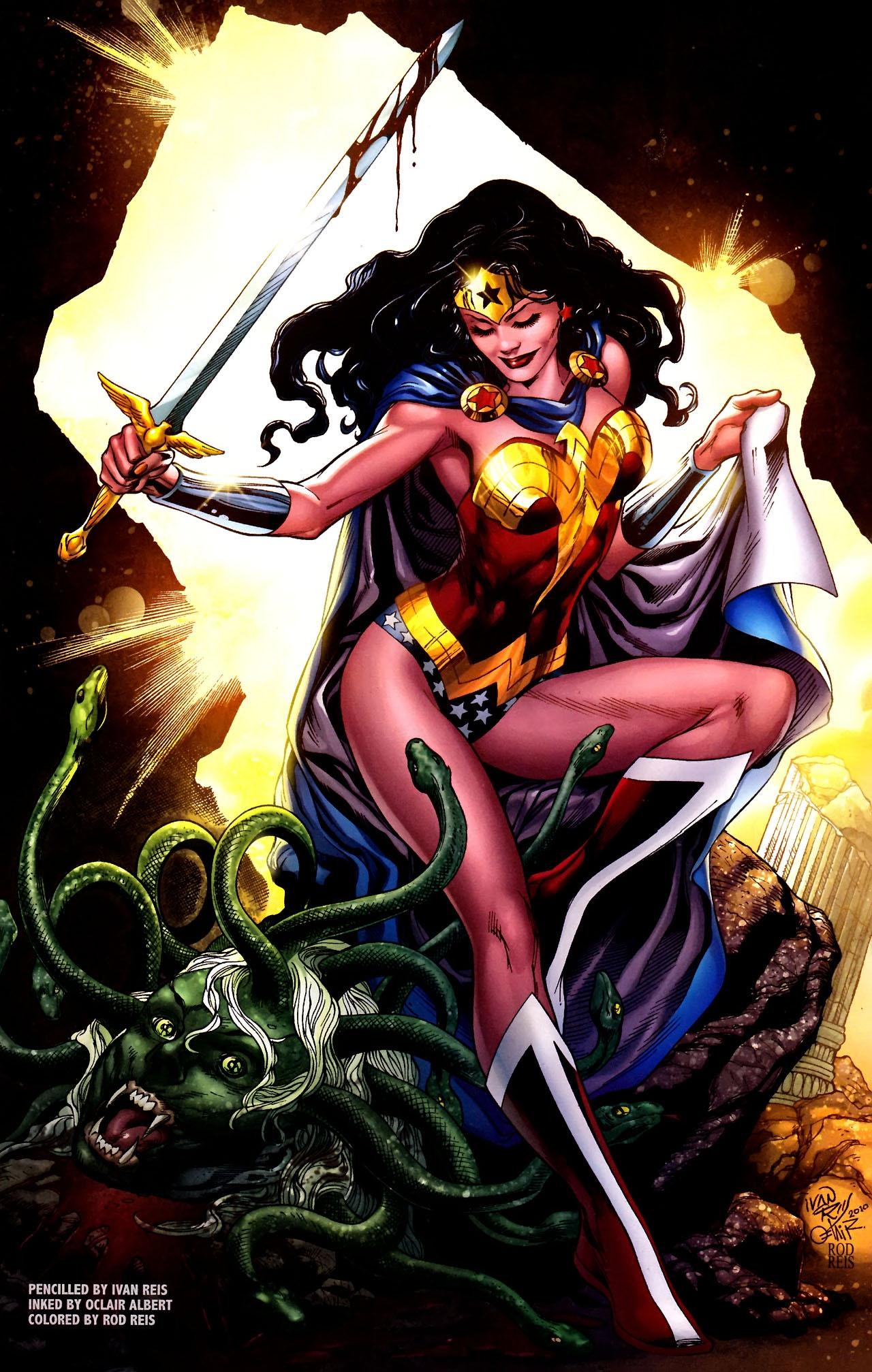 Read online Wonder Woman (2006) comic -  Issue #600 - 11